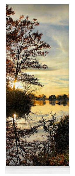 Lake Wausau Sunset Yoga Mat