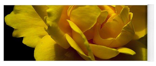 Lemon Rose Yoga Mat