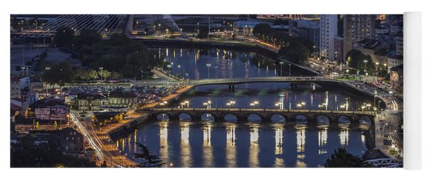 Lerez River Pontevedra Galicia Spain Yoga Mat