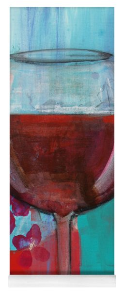 Yoga Mat featuring the painting Let It Breathe by Robin Maria Pedrero