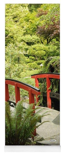 Little Red Bridge Yoga Mat