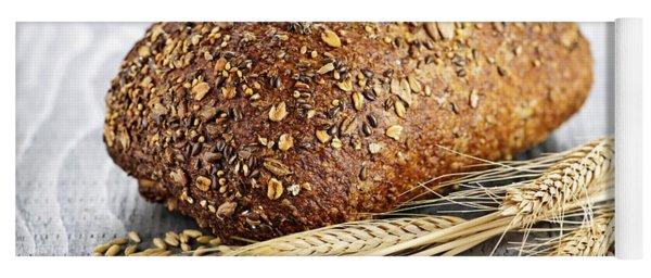Loaf Of Multigrain Bread Yoga Mat