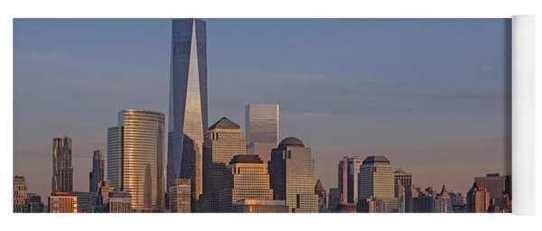 Lower Manhattan Skyline Yoga Mat