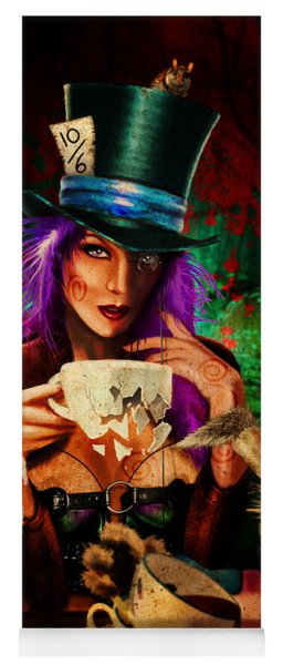 Mad Hatter Yoga Mat