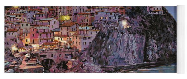 Manarola At Dusk Yoga Mat