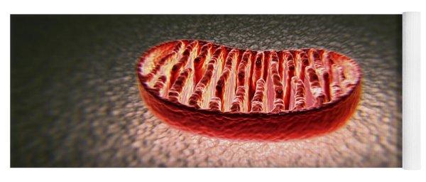 Mitochondria Cut Yoga Mat