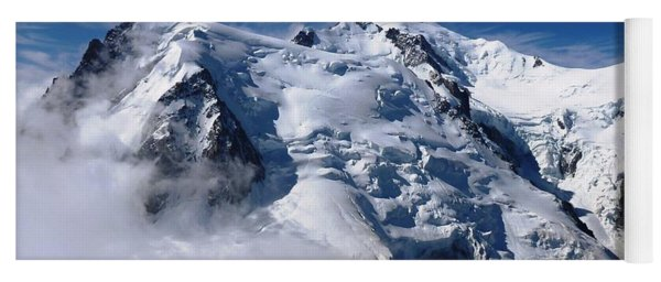 Mont Blanc - France Yoga Mat