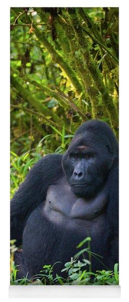 Mountain Gorilla Gorilla Beringei Yoga Mat