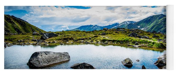 Mountain Lake Yoga Mat