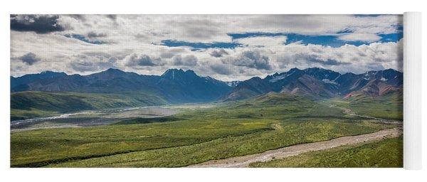 Mountain Landscape Yoga Mat