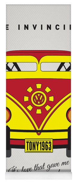 My Superhero-vw-t1-iron Man Yoga Mat