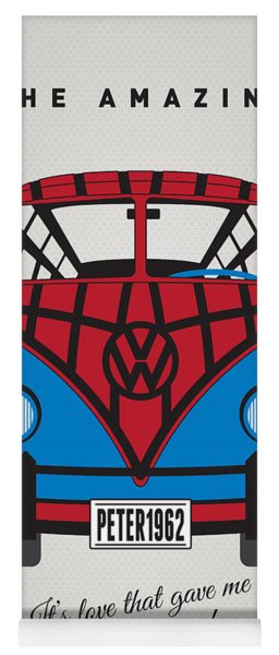 My Superhero-vw-t1-spiderman Yoga Mat
