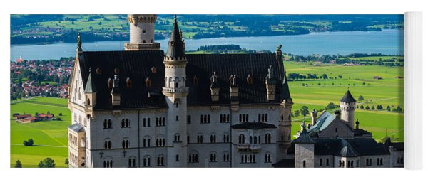Neuschwanstein Castle - Bavaria - Germany Yoga Mat