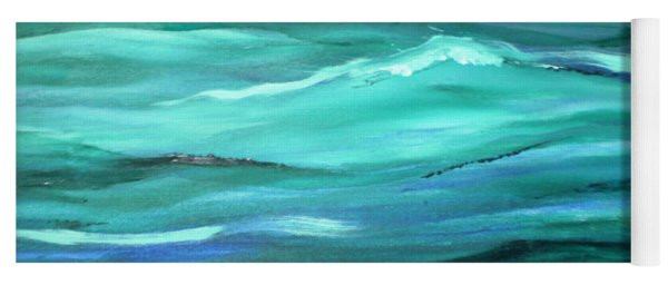 Ocean Swell   Yoga Mat