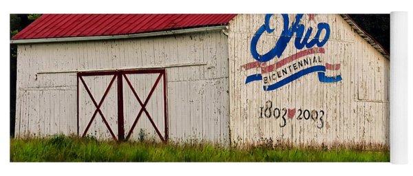 Ohio Bicentennial Barn Yoga Mat