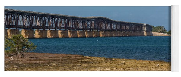 Old Bahia Honda Bridge Yoga Mat