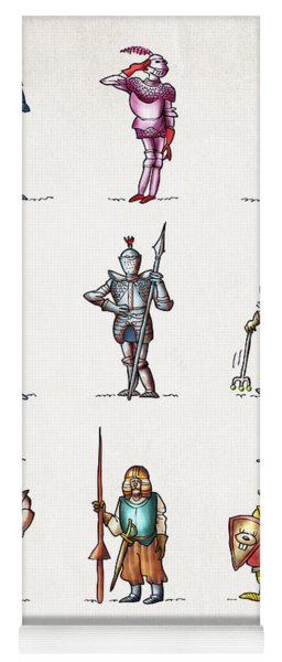 One Knight Stands Yoga Mat