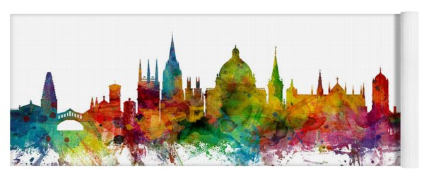 Oxford England Skyline Yoga Mat