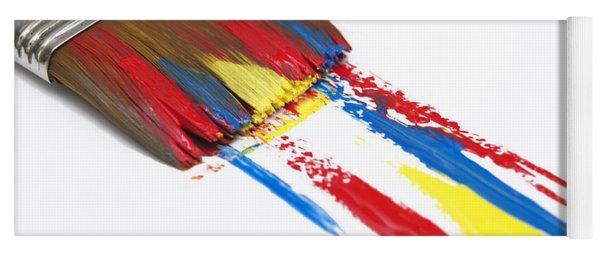 Paintbrush Yoga Mat