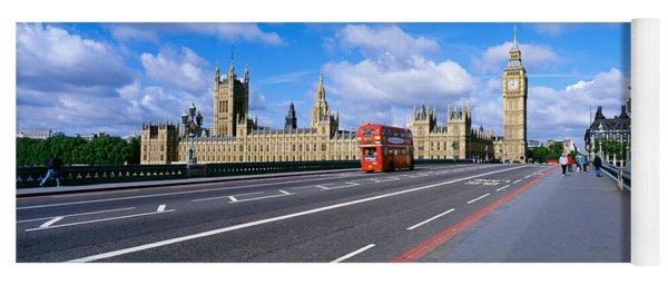 Parliament Big Ben London England Yoga Mat