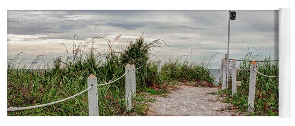 Pathway To The Beach Yoga Mat