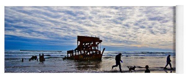 Peter Iredale Shipwreck, Fort Stevens Yoga Mat