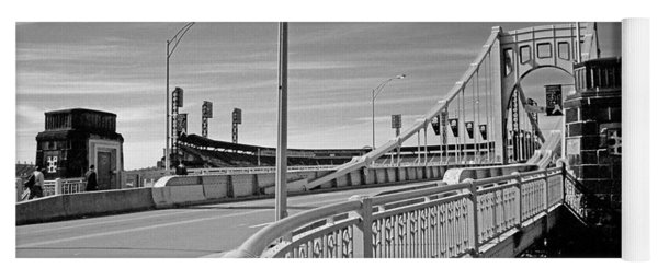 Pittsburgh - Roberto Clemente Bridge Yoga Mat