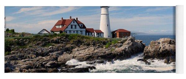 Portland Head Lighthouse Yoga Mat