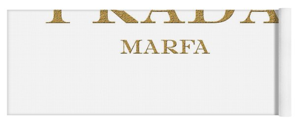 Prada Marfa Mileage Distance Yoga Mat