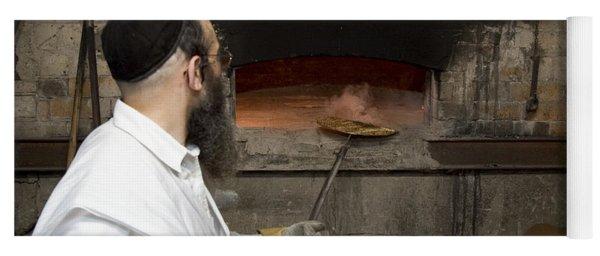 Preparing Matzah Israel Yoga Mat