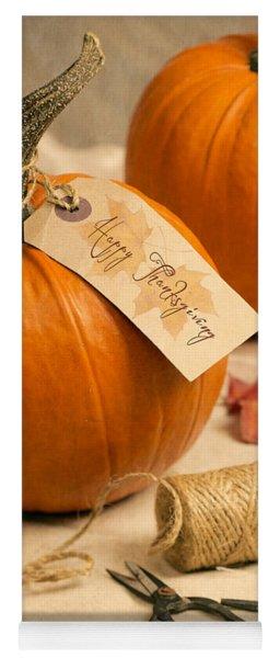 Pumpkins For Thanksgiving Yoga Mat