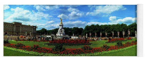 Queen Victoria Memorial At Buckingham Yoga Mat