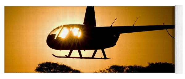 R44 Sunset Yoga Mat