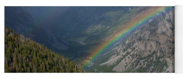 Rainbow At Beartooth Pass Yoga Mat