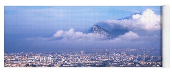 Rock Of Gibraltar, Andalucia, Spain Yoga Mat