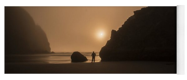 Ruby Beach Sunset Yoga Mat