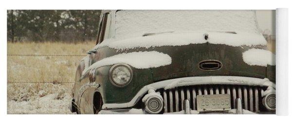 Rusting In The Snow Yoga Mat
