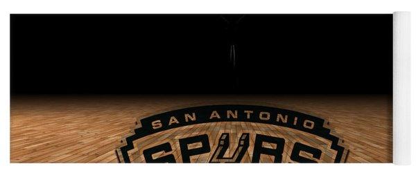 San Antonio Spurs Yoga Mat