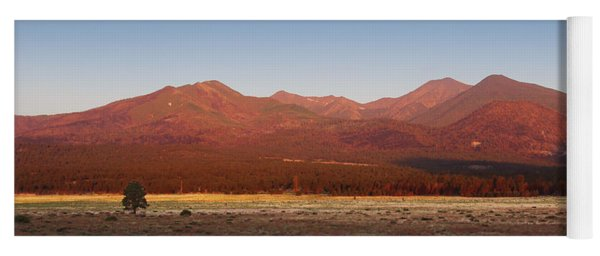 San Francisco Peaks Sunrise Yoga Mat