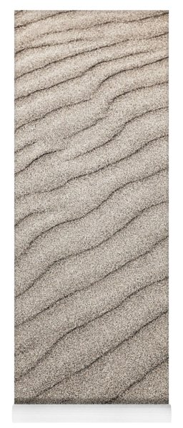 Sand Ripples Abstract Yoga Mat