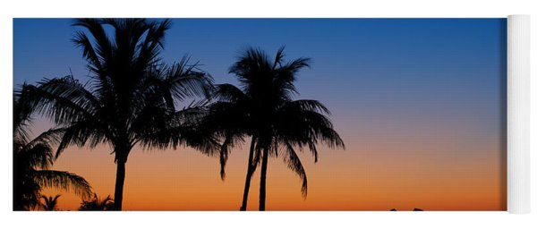 Sanibel Island Florida Sunset Yoga Mat
