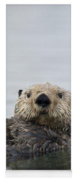 Sea Otter Alaska Yoga Mat