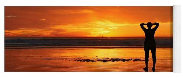 Seaside Reflections  Yoga Mat