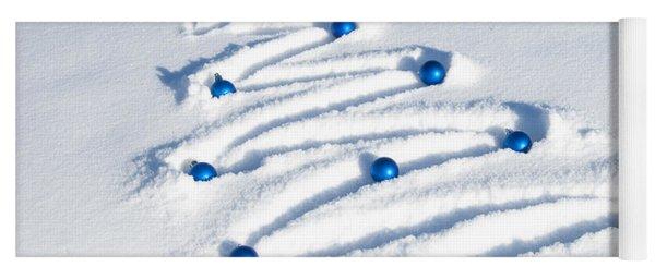 Snow Tree Yoga Mat