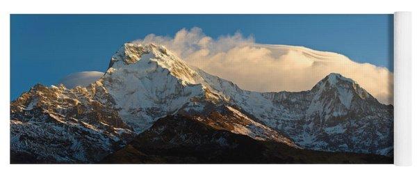 Snowcapped Mountains, Hiunchuli Yoga Mat