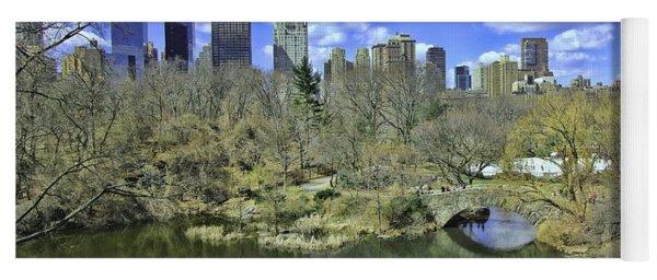 Springtime In Central Park Yoga Mat