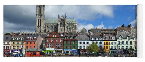 St Colemans Cathedral From The Harbour Yoga Mat