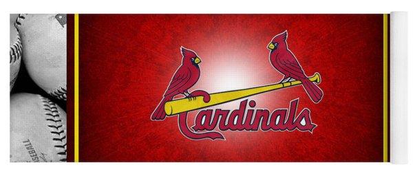 St Louis Cardinals Yoga Mat