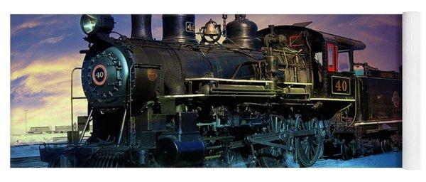 Steam Engine Nevada Northern Yoga Mat