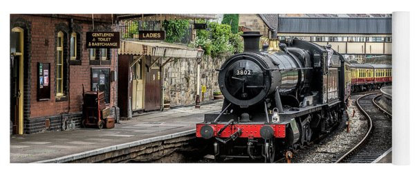 Steam Train Yoga Mat
